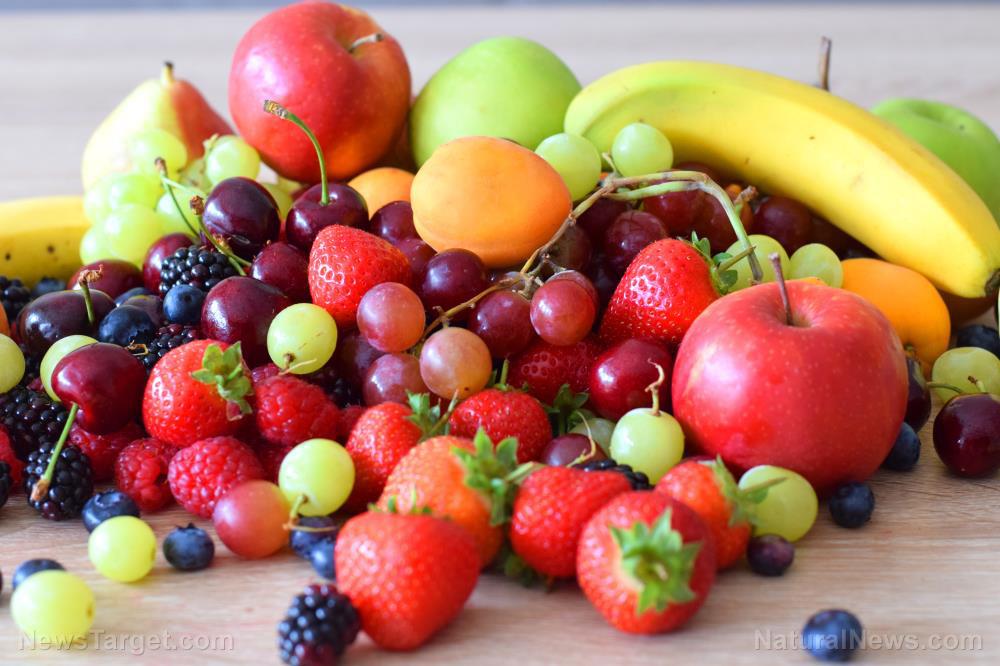 Variety Apple Background Berries